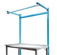 Stahl-Aufbauportale mit Ausleger Anbaueinheit Spezial/Ergo Lichtblau RAL 5012 / 1500