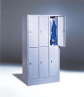Zylinderschloß für Schließfachschränke mit Lüftungsschlitzen