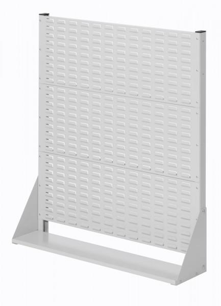 Stellwand mit Sichtlagerkästen, Einseitige Nutzung, Höhe 1100 mm