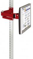 Monitorträger leitfähig 100 / Rubinrot RAL 3003