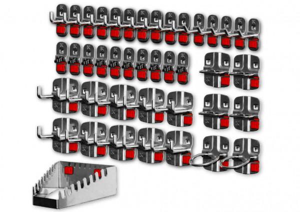 RasterPlan/ABAX Werkzeughalter-Sortiment, 42-teilig