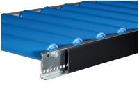 Profil-Abdeckung für Leicht-Stahlrollenbahnen Einseitig / 1000