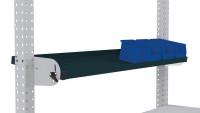 Neigbare Ablagekonsole für MULTIPLAN Arbeitstische Anthrazit RAL 7016 / 1500 / 195