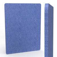 Raumteiler AKUSTIX Muram, H x B 1200 x 1600 mm Blau