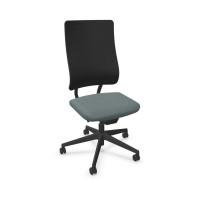 Bürodrehstuhl Newback Schwarz
