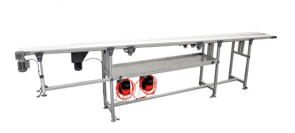 Kleinbandförderer aus Aluminiumkonstruktion