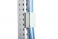 Kabelhalter für MULTIPLAN Arbeitstische Lichtgrau RAL 7035
