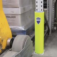 Regalanfahrschutz aus HDPE-Polyethylen