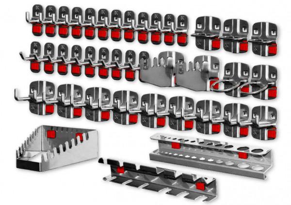 RasterPlan/ABAX Werkzeughalter-Sortiment, 40-teilig