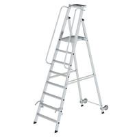 Aluminium-Stehleiter einseitig begehbar 8