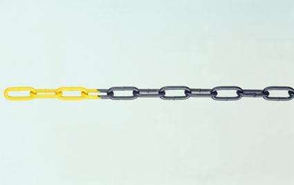 Stahl-Sperrketten