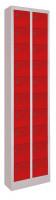 Kleinfachschrank, Anzahl Fächer: 30, HxBxT 1950x460x200 mm Glatte Türen / Anthrazit RAL 7016