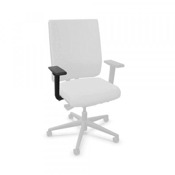 Armlehnen mit PU-Softauflage für Bürodrehstuhl F1 Pro