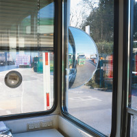 Acrylglas-3-Wege-Spiegel 420 / 850