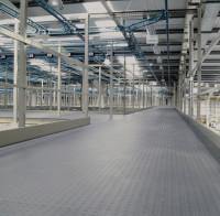 Randleiste für flexible Fliesen-Bodenbeläge, Randleiste Grau