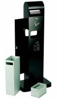 Standascher, mit/ohne Abfallbehälter mit Abfallbehälter