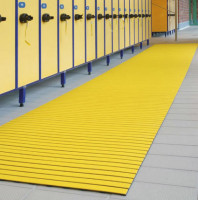 Bodenmatte aus Hart-PVC, 12,0 mm, 10 m Rolle Beige / 1000