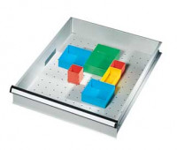 Schubfachbehälter Rot / 54 x 54 x 45