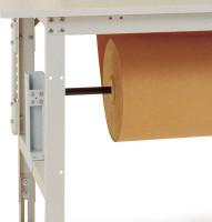 Rollen-Achssatz für Tischbreite 2000 mm 1000 / Lichtgrau RAL 7035
