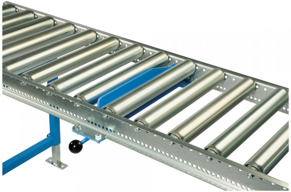 Handsperre für Leicht-Kunststoffrollenbahnen
