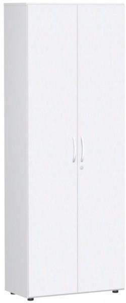 Systemline Flügeltürenschrank - Zweiflügelig und abschließbar, HxBxT 2160 x 800 x 420 mm