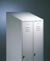 Schrägdach für Stahl-Garderobenschrank