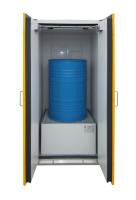 Sicherheits-Fass-Schrank nach EN 14470-1 Typ 90 2200 x 1550 x 1025 / 2 x 200