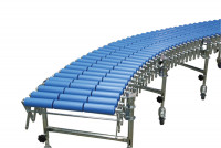 Scheren-Rollenbahnen mit Kunststoffrollen 4500 - 9600 / 800