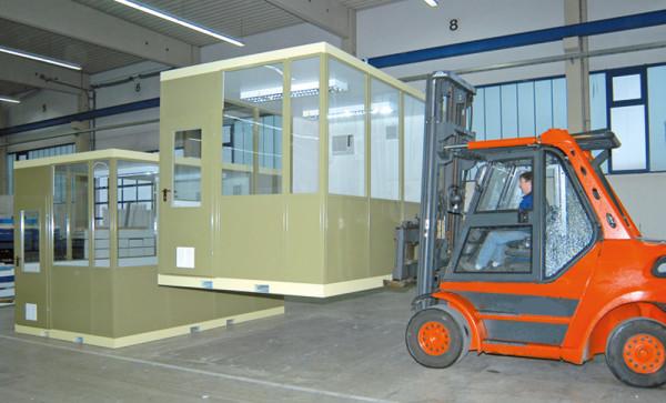 Mobiler Raum, Innenbereich