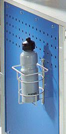 Stahldraht-Flaschenhalter zur Schraubbesfestigung