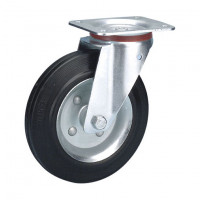 Ersatzrad für Vollgummi-Bereifung 135 / Stahlblech