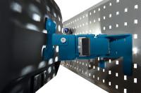 Monitor-Halter für Werkzeug-Halterplatte, VESA 75/100 mm Brillantblau RAL 5007