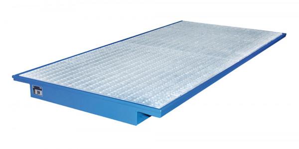 Palettenregal-Einhängewanne, LxBxH 2650 x 1250 x 130 mm