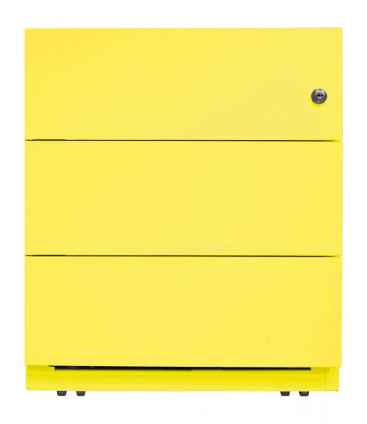Stahl-Rollcontainer Note, Tiefe 565 mm