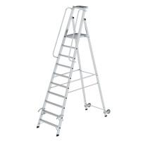 Aluminium-Stehleiter einseitig begehbar 10