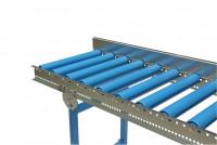 Kurven Seitenführung U-Profil für Leicht-Kunststoffrollenbahnen Zweiseitig / 45°