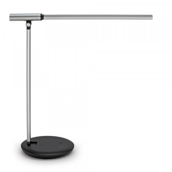 Dimmbare LED-Tischleuchte mit Farbtemperatur-Wechsel-Funkion und USB-Anschluss