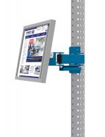 Monitorträger für MULTIPLAN / PROFIPLAN Brillantblau RAL 5007 / 100