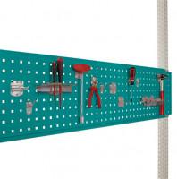 Werkzeug-Lochplatte für Werkbank PROFI Wasserblau RAL 5021 / 2000