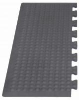 Erweiterbare Arbeitsplatzmatte, 14 mm Endstück / 300 x 800