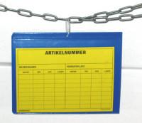 Kennzeichnungstaschen mit Aufhängelochung 235 / 170