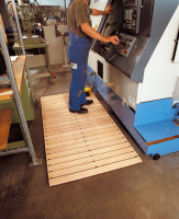 Maschinen-Holzlaufrost 1500 / 1000