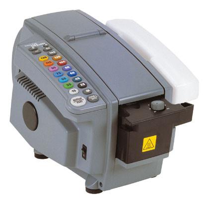 Elektronischer Klebestreifengeber für gleiche Kartonformate