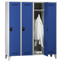 Garderobenschrank - Serie 90 Enzianblau RAL 5010