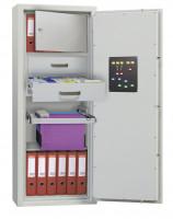 Wertschutzschrank, B x T 1230 x 495 mm Euro-Norm EN 1143-1 Klasse N/0