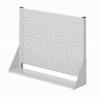 Stellwand mit Sichtlagerkästen, Einseitige Nutzung, Höhe 760 mm zur Selbstbestückung
