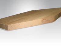 Werkbankplatte Buche massiv 40 mm 1250 / 600