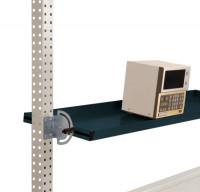 Neigbare Ablagekonsolen für Stahl-Aufbauportale Anthrazit RAL 7016 / 1750 / 495