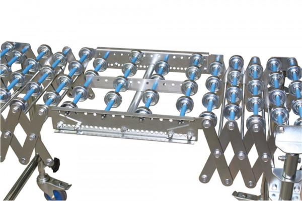 Verbindungsstück für Scheren-Röllchenbahnen, Kunststoff