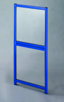Doppeltür für Trennwand-System Universelle Acrylglas